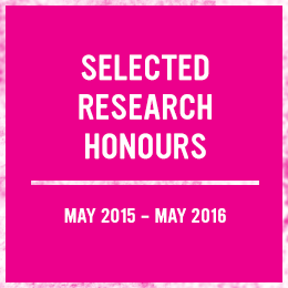 Selected Research Honours